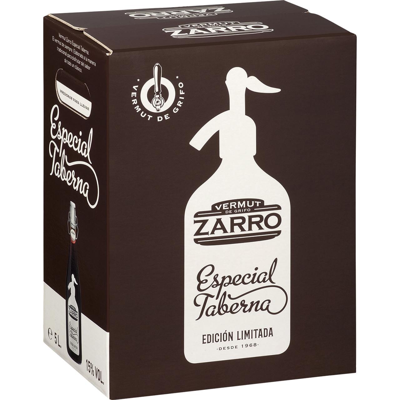Zarro vermut vermell especial taberna bib