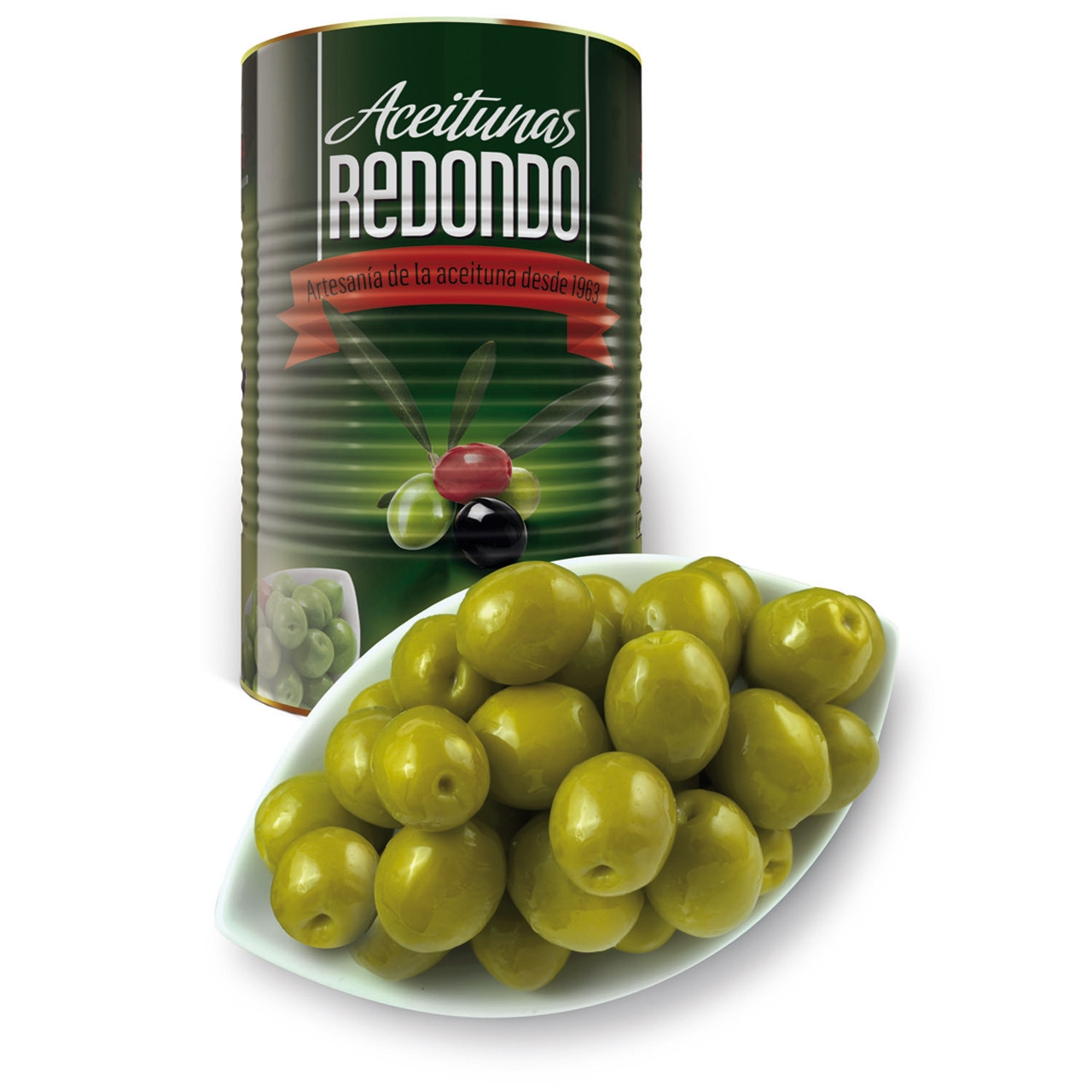 Oliva manzanilla gust anxova llauna Redondo