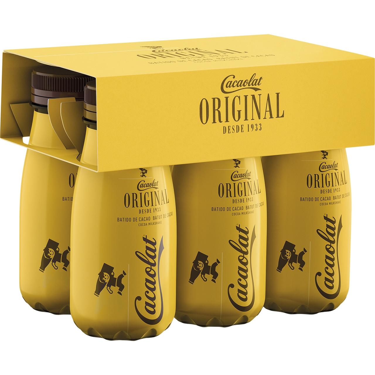 Cacaolat plàstic s/r 20cl*6 - 24u
