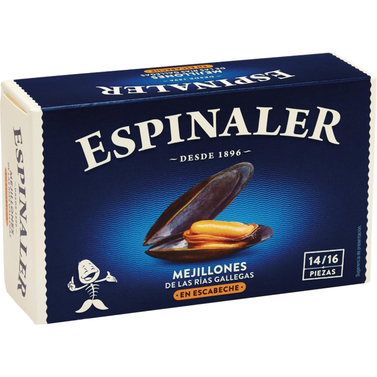 Espinaler-musclos escabetx ol120 14/16