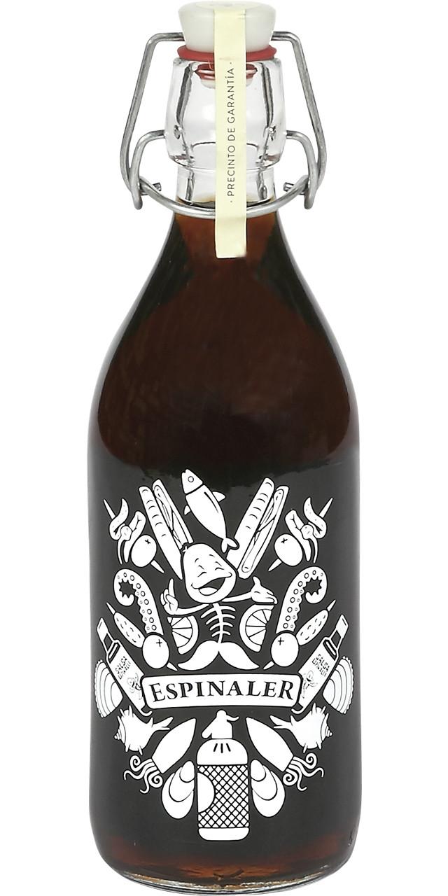 Espinaler-vermut negre ampolla vintage