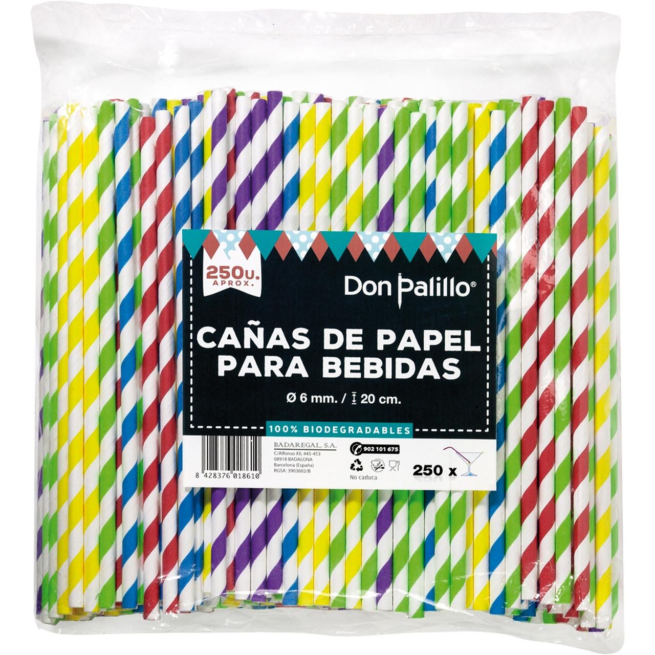 Canyes paper ratlles espiral colors