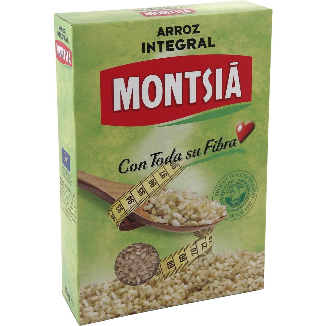 Arròs 1kg integral Montsià
