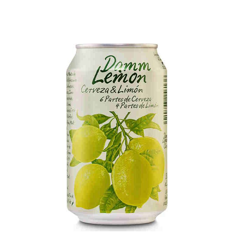 Damm lemon llauna