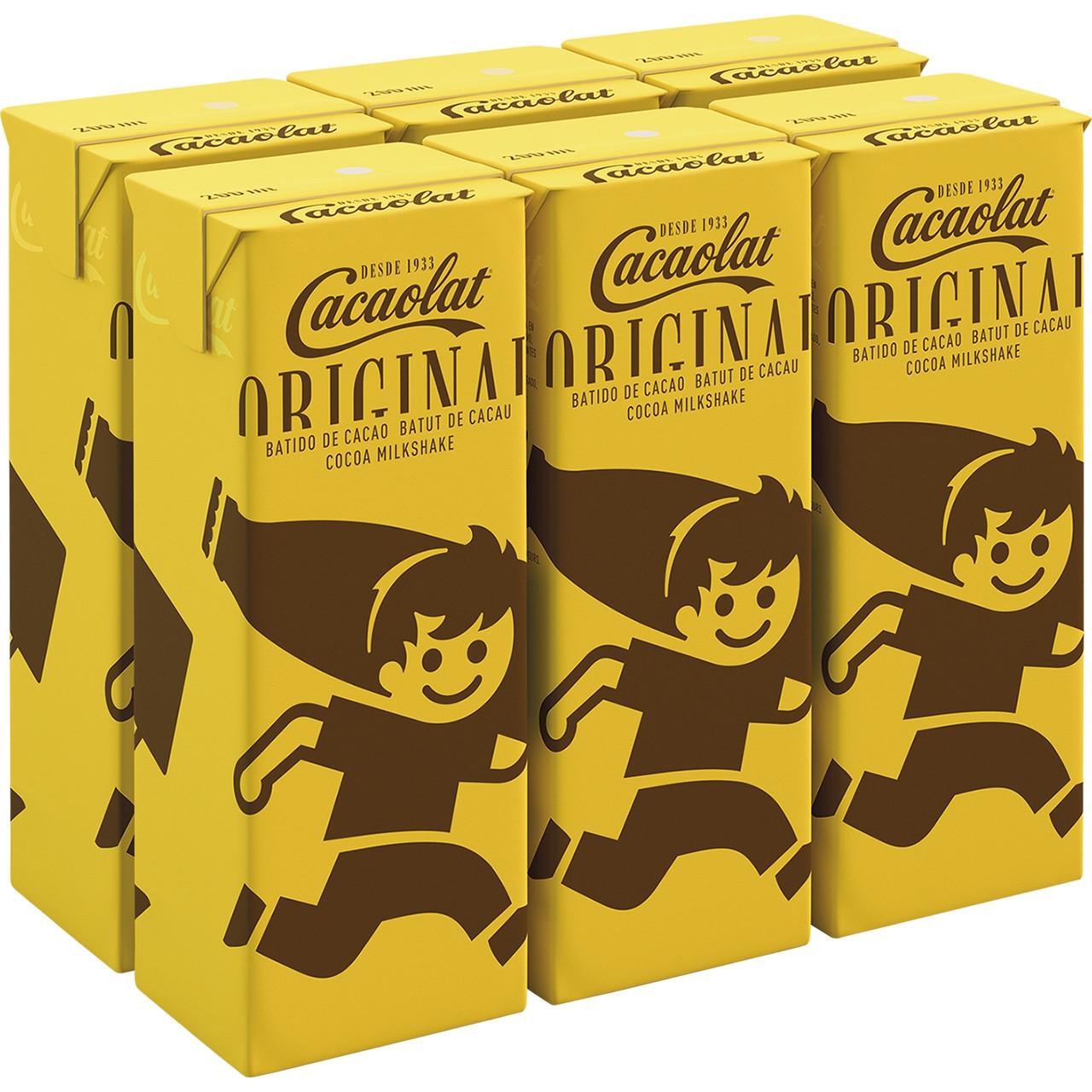 Cacaolat bric 200 slim pack 6