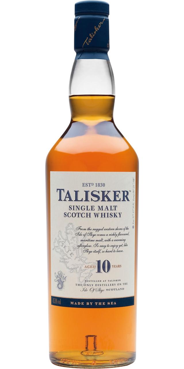 Talisker malta 10 anys