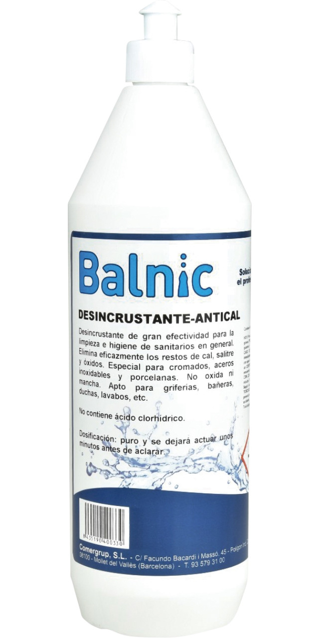 Balnic desincrustant-antical