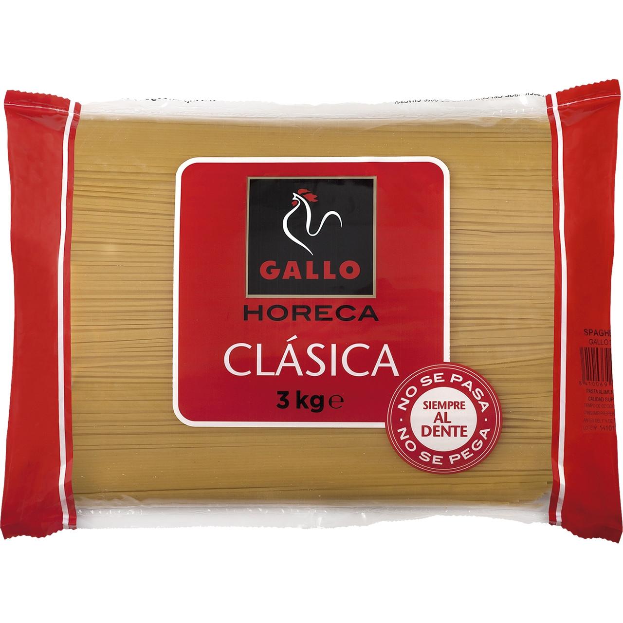 Espagueti nº 3 hostaleria Gallo