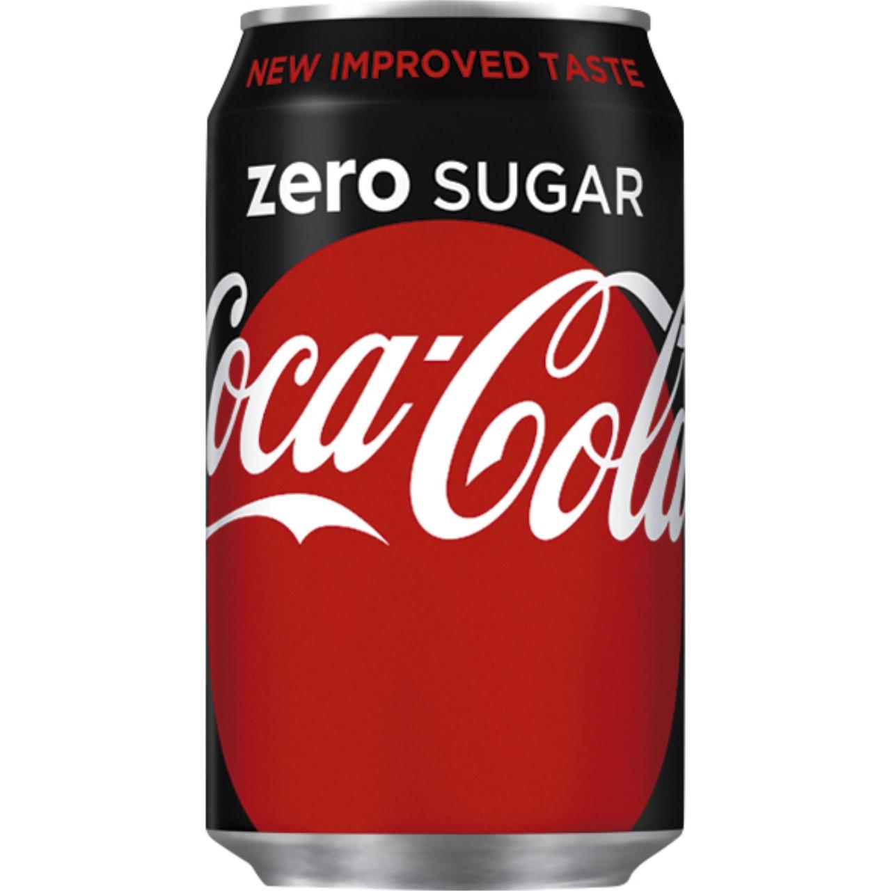 Llauna importació coca cola zero