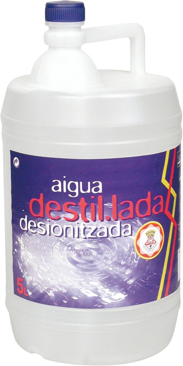 Aigua destilada sant mateu