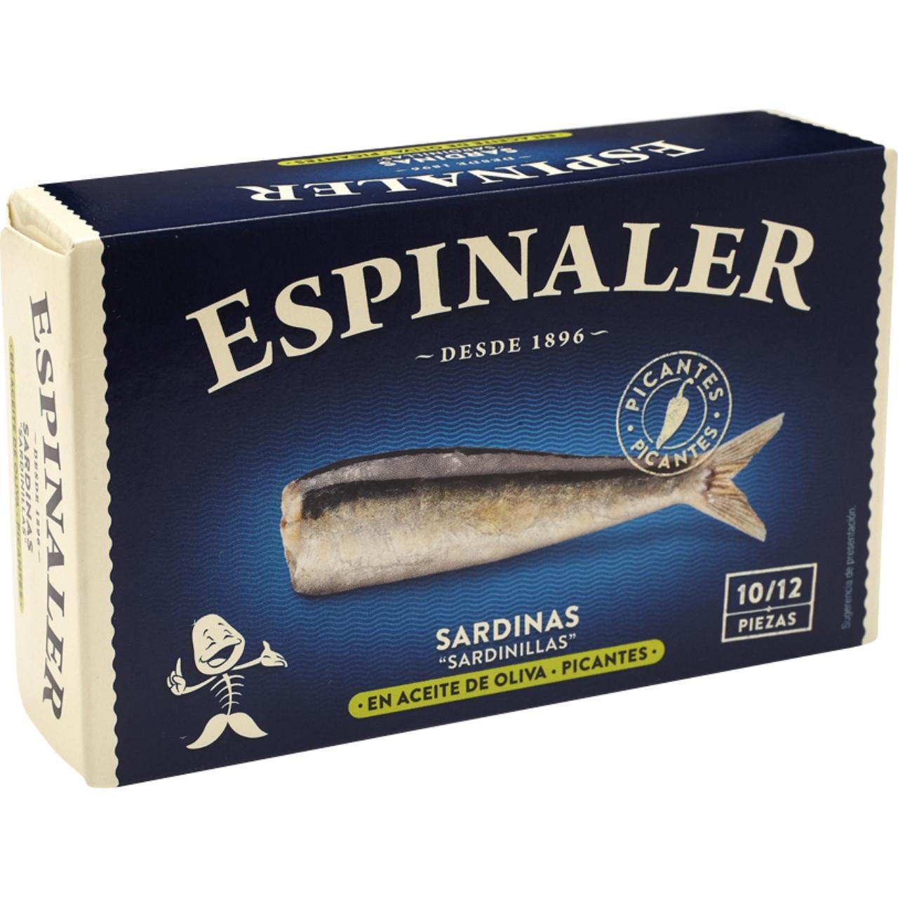 Espinaler sardinetes picants rr-125 10/12
