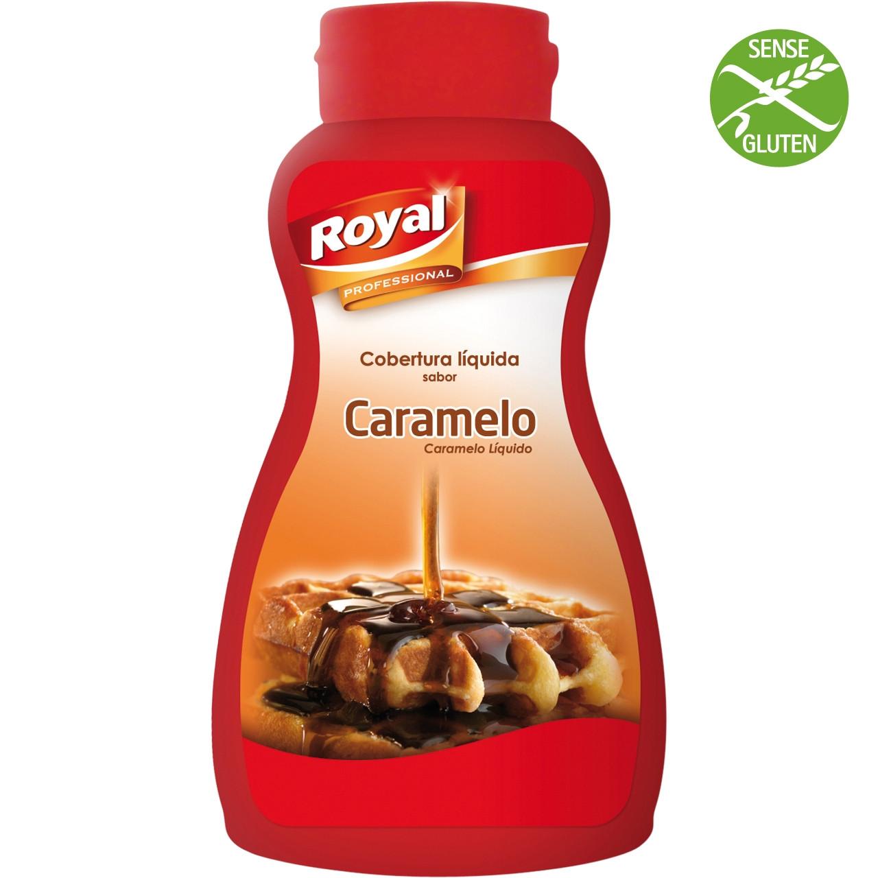 Caramel líquid Royal 1 kg.