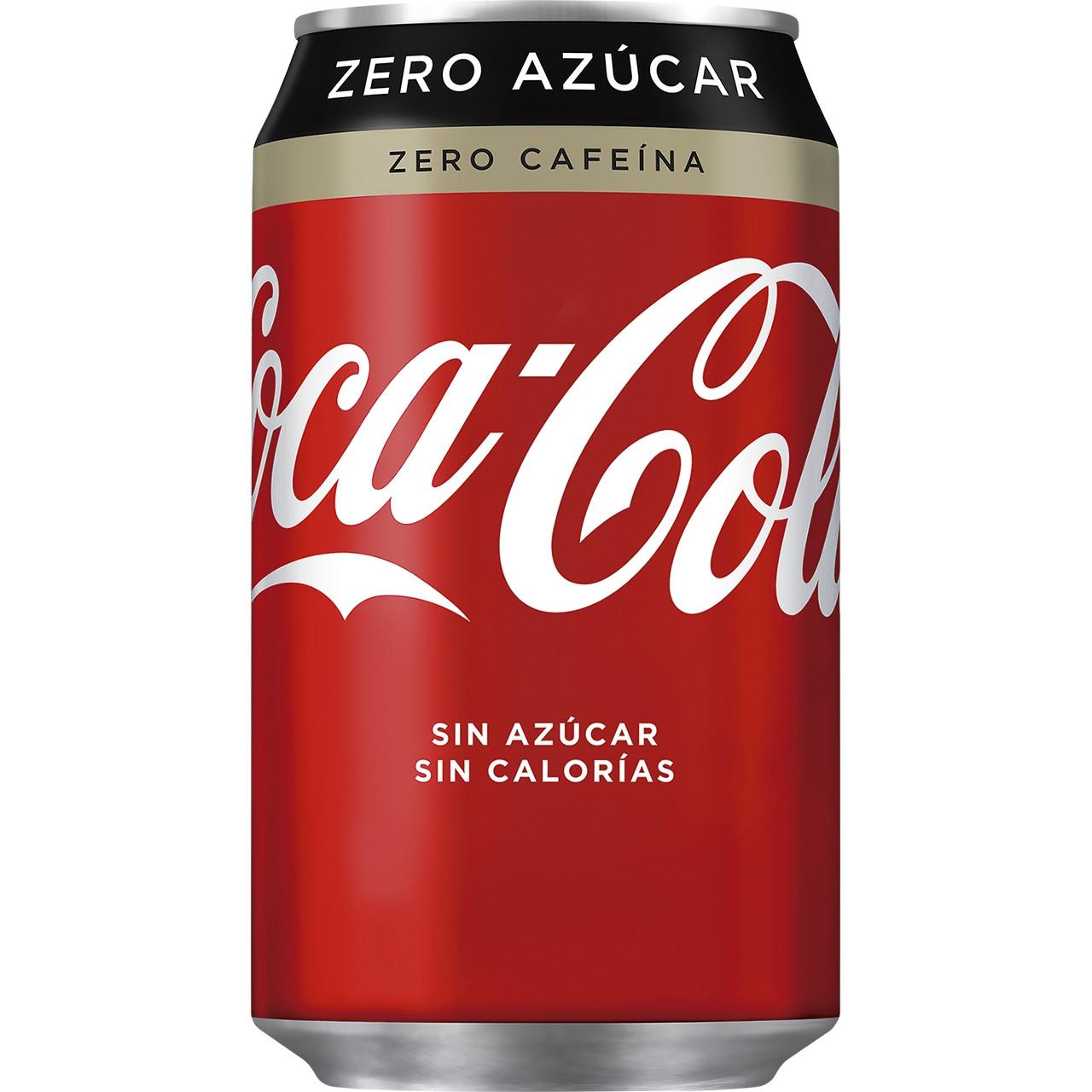 Llauna coca cola zero zero (0-0) 24u