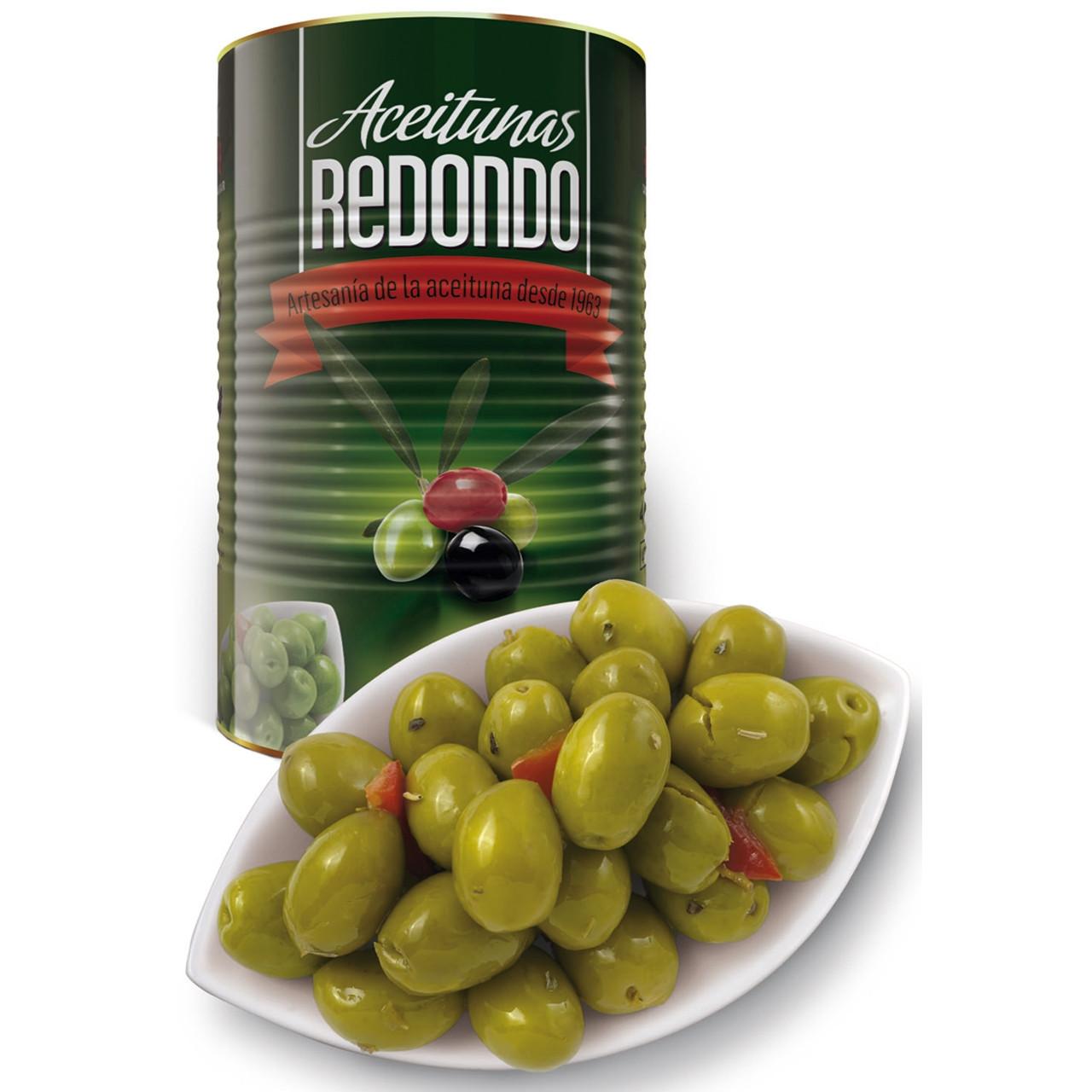 Olives amanides de l'àvia llauna Redondo