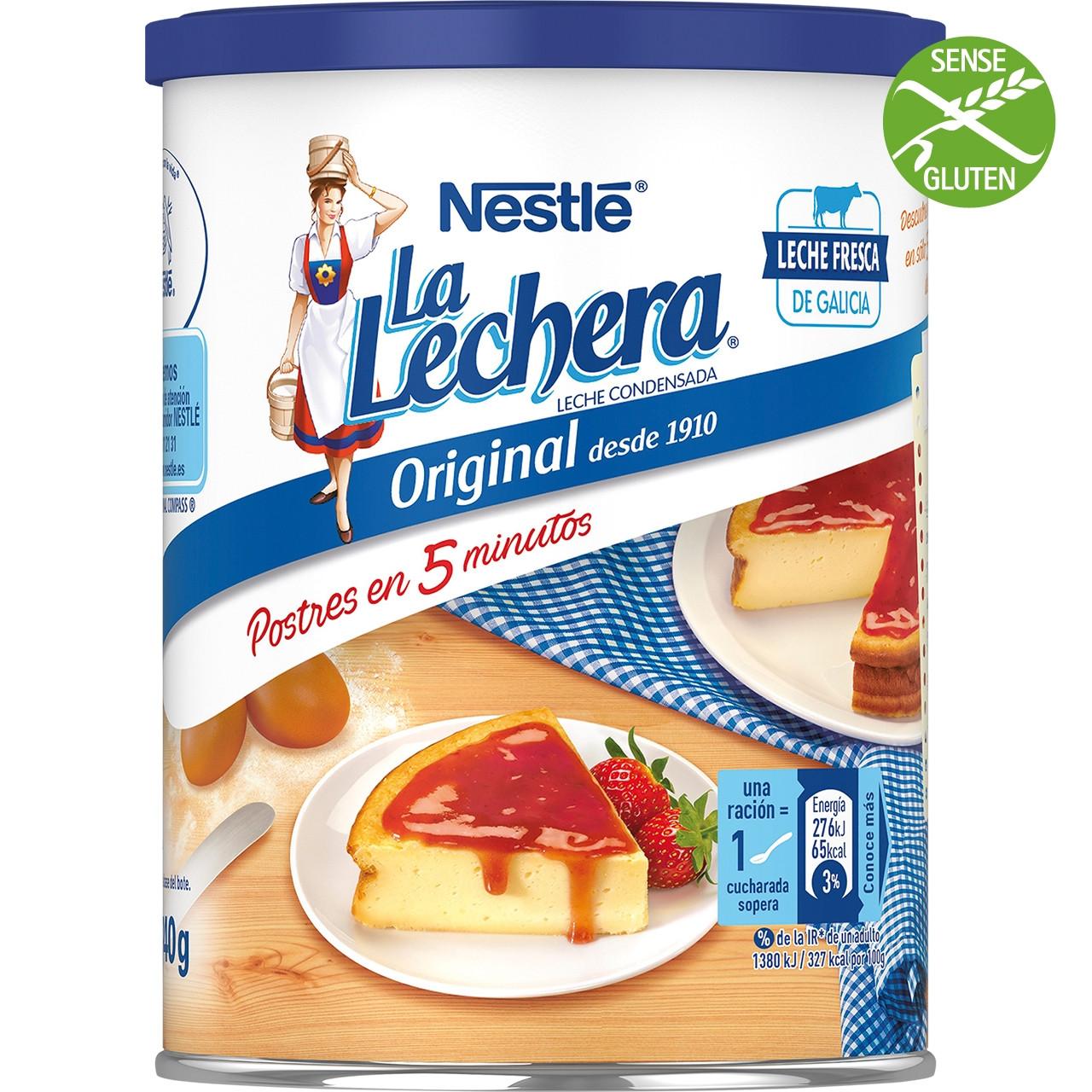 Llet condensada sencera La Lechera