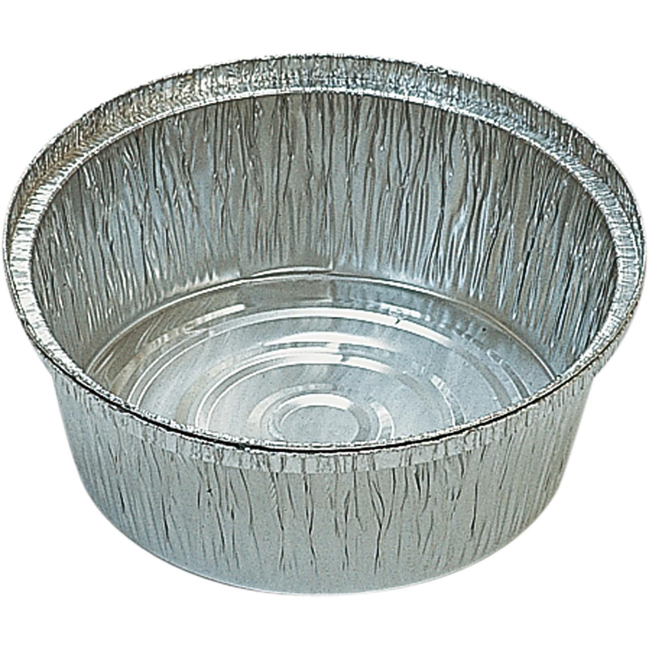 Safata alumini pollastre rodona 206x55mm