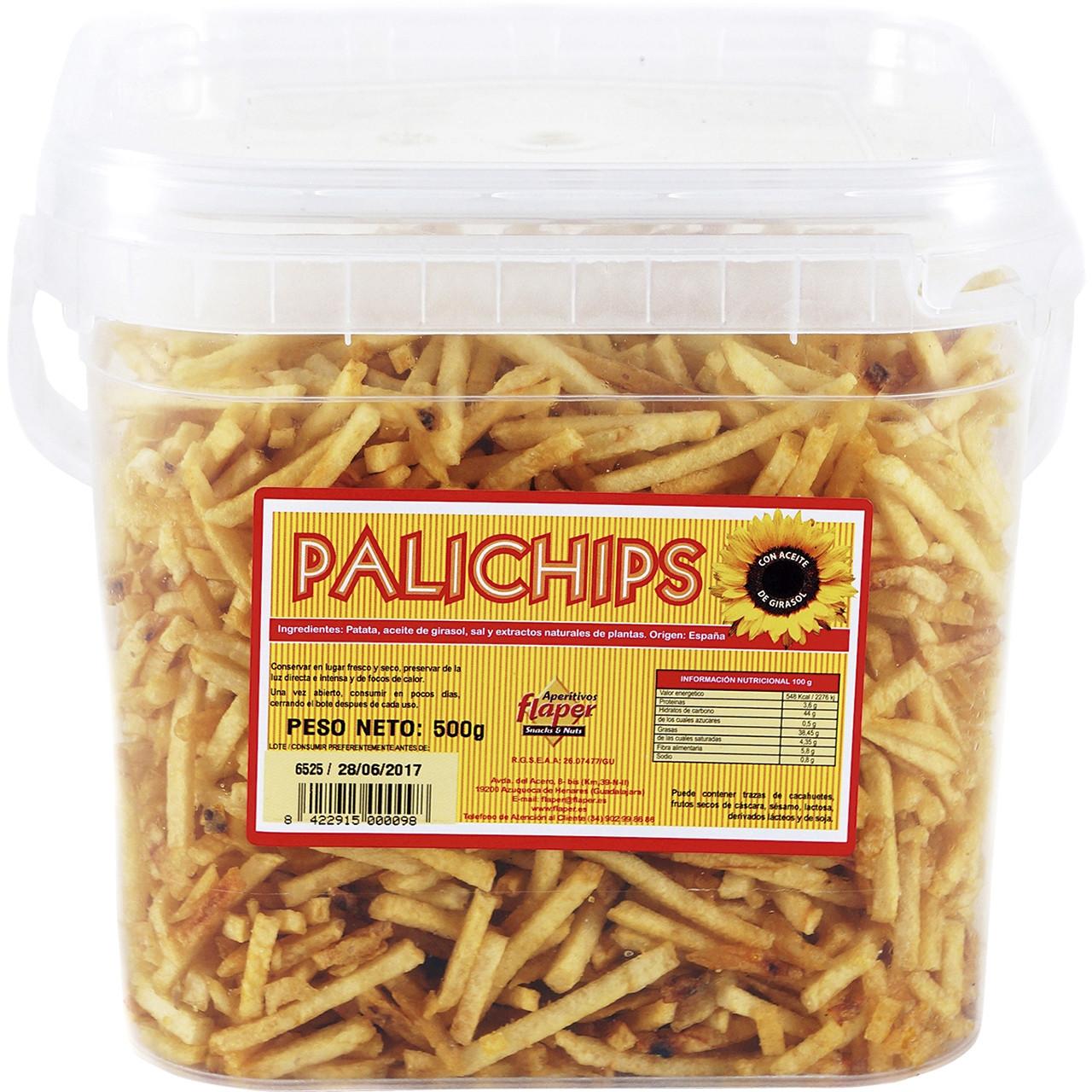 """Palichips patata """"palito"""" cubell"""