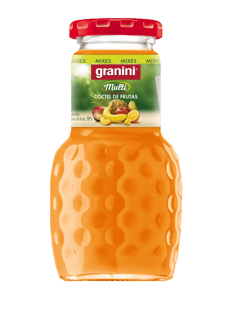 Granini còctel de fruites 200ml 24u