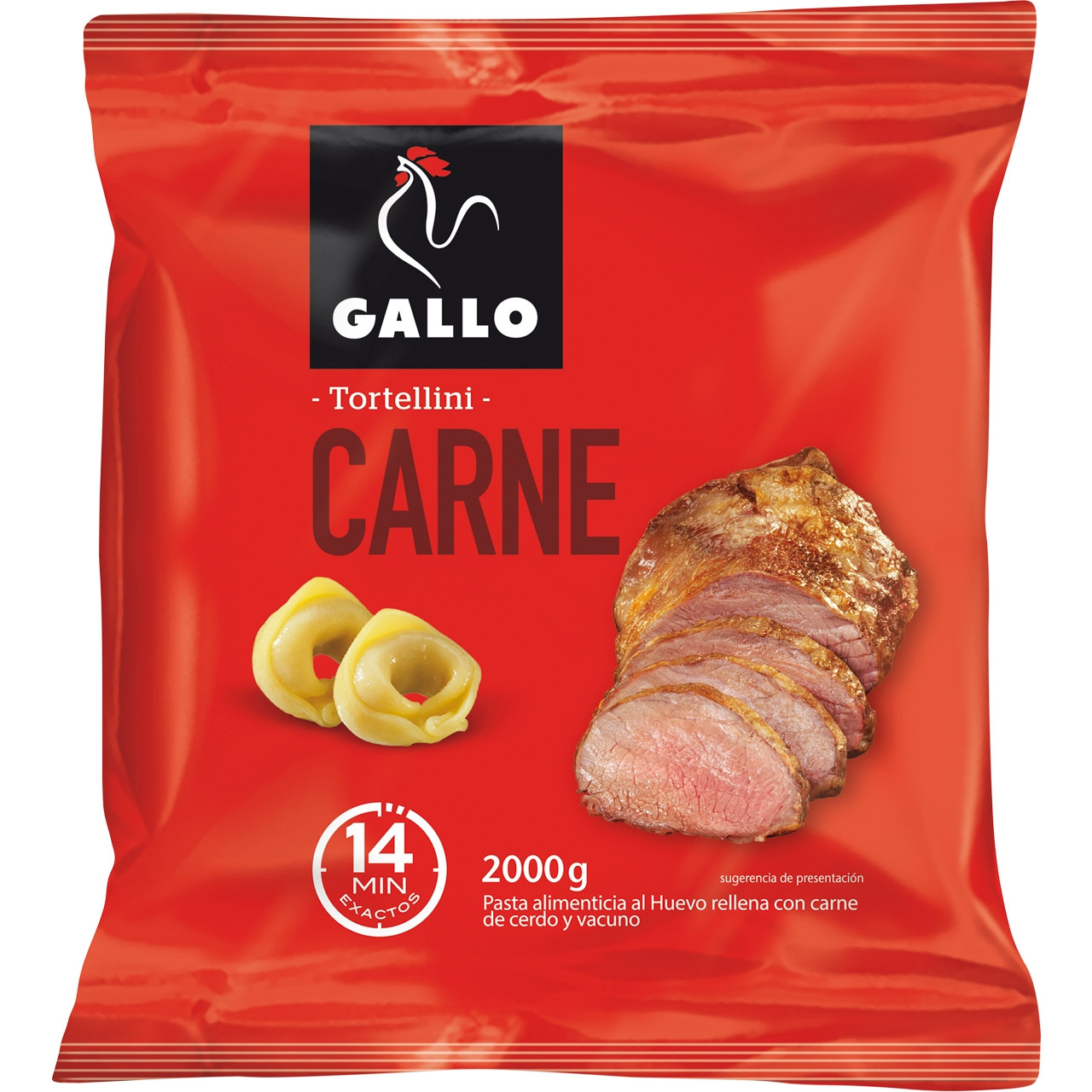Tortel.lini farcits de carn Gallo