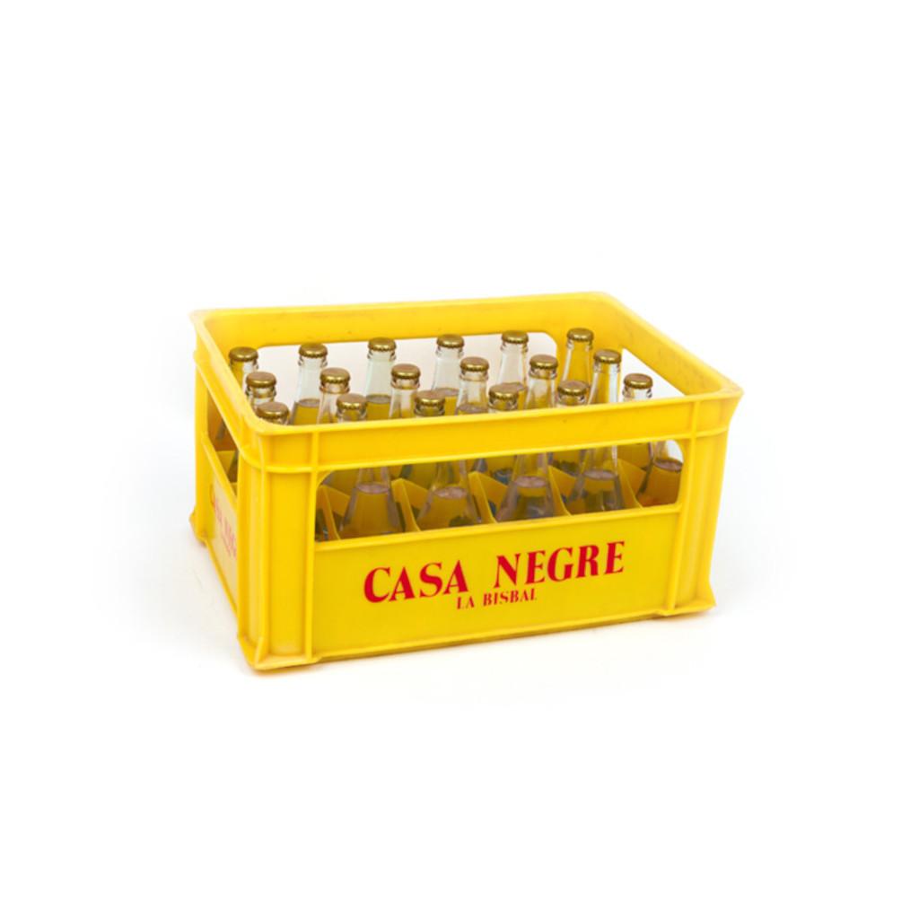 Gasosa Casa Negre 1/4 corona envàs retornable