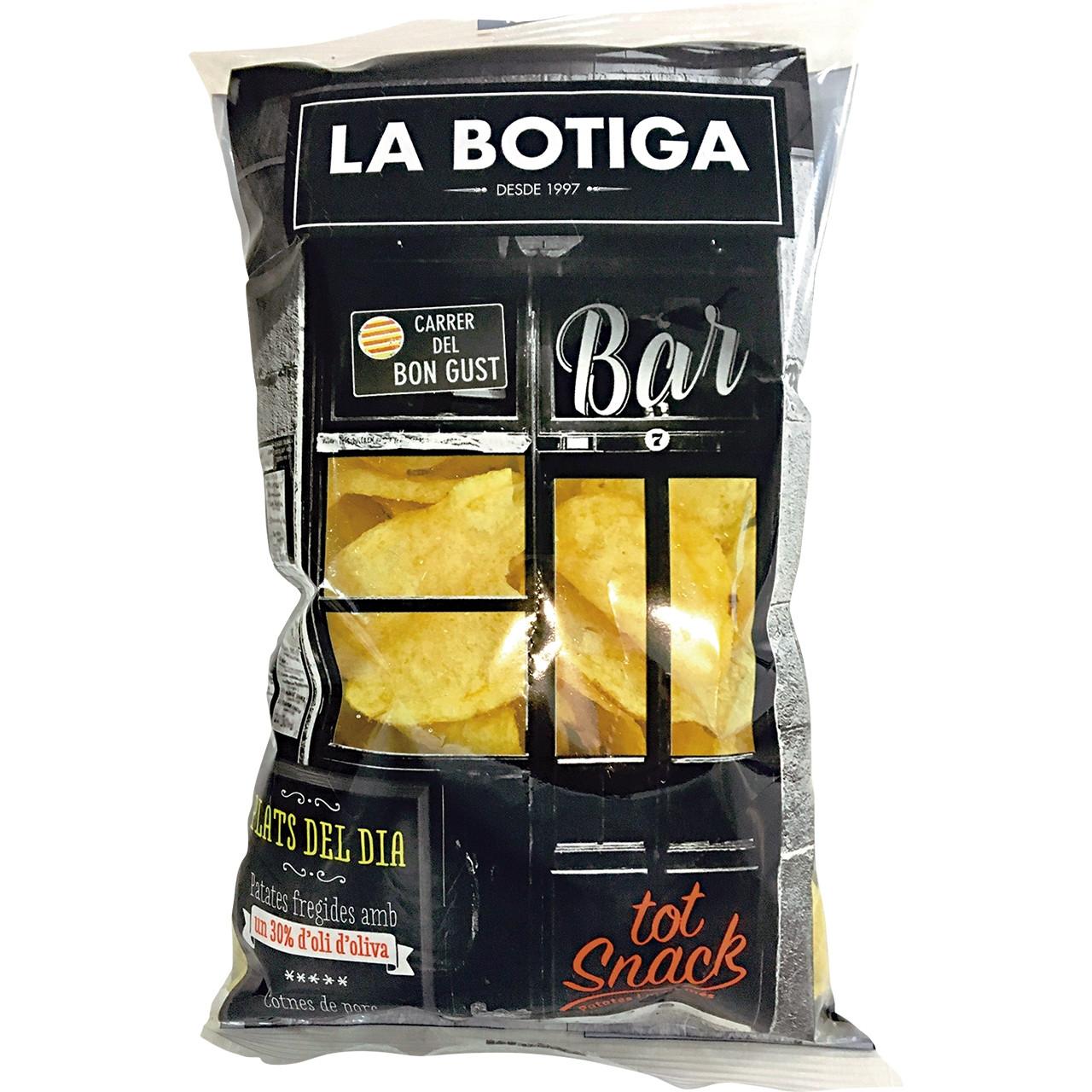 Patates fregides artesanes oli d'oliva Tot Snack