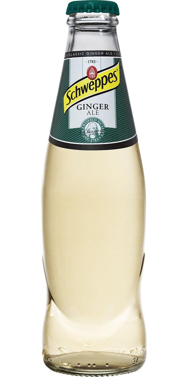 Schweppes ginger ale 250 sr 24u