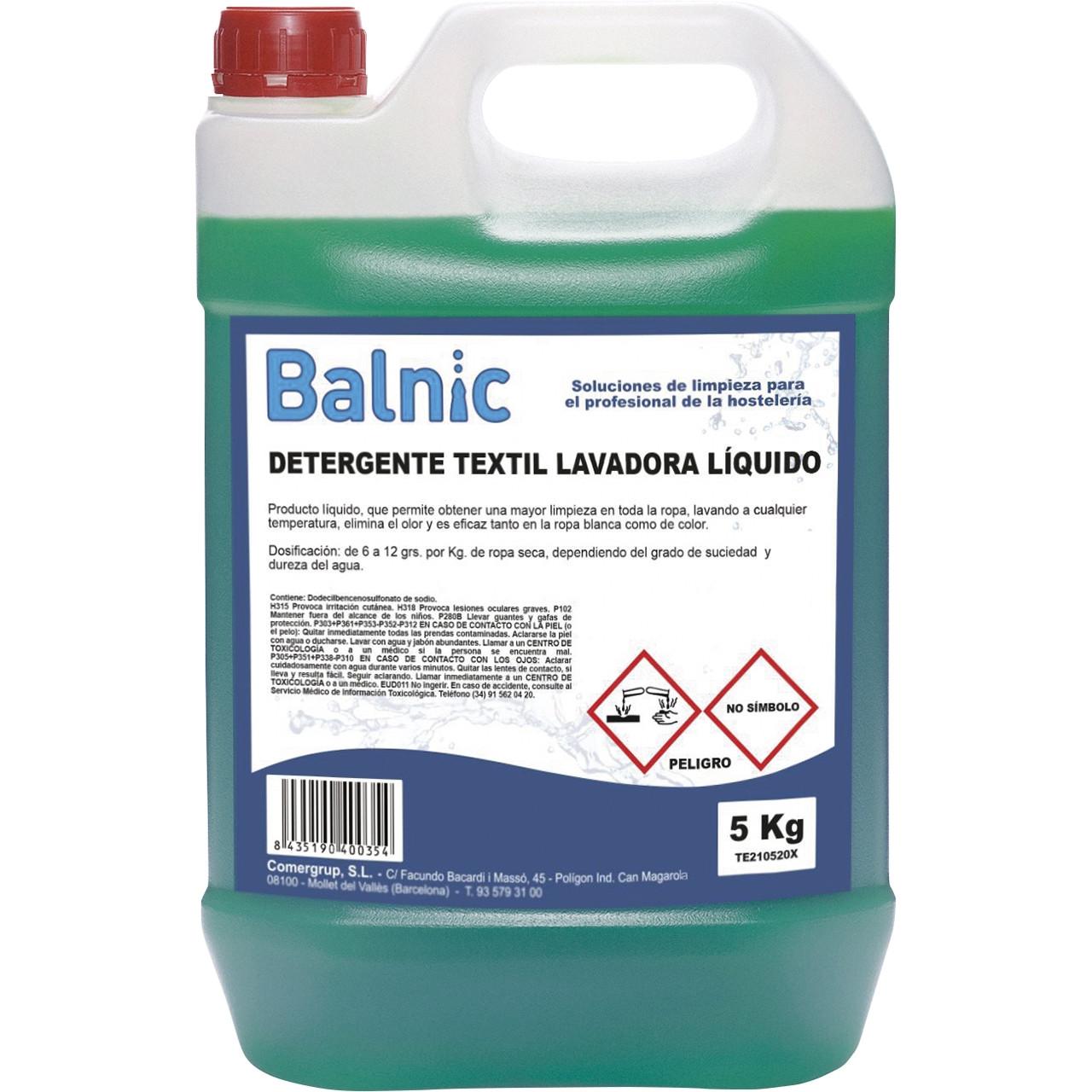 Balnic detergent rentadora liquid tèxtil