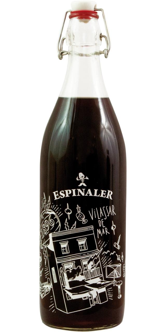 Espinaler-vermut negre vintage