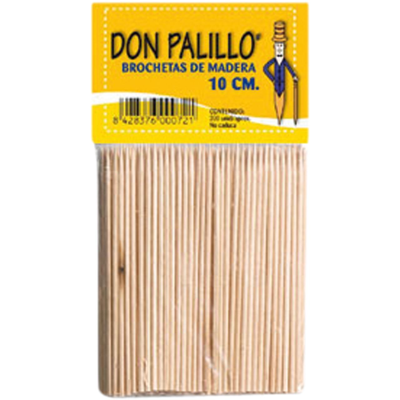 Broqueta fusta 10 cm