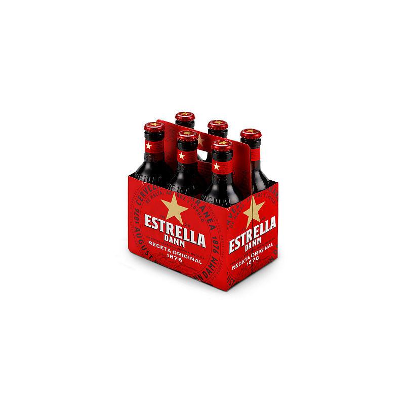 Estrella damm 1/4 pack