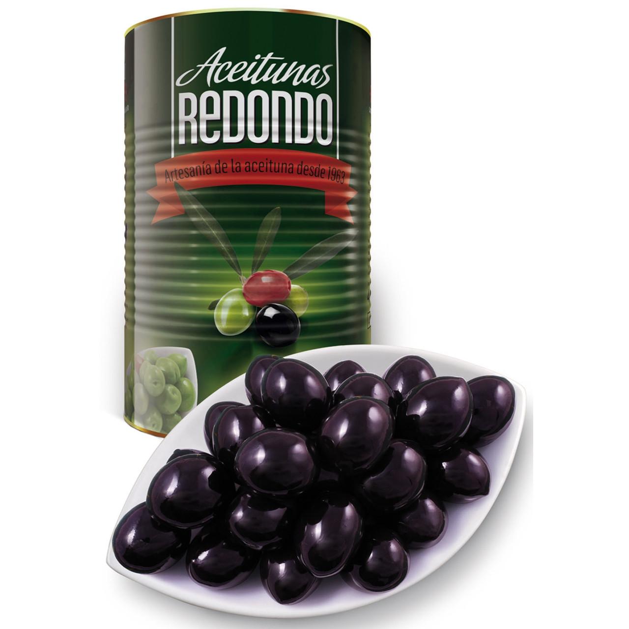 Oliva negra dolça Redondo llauna