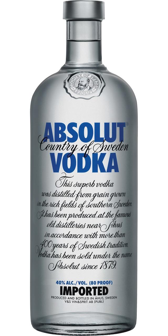 Absolut vodka 70 cl (i)