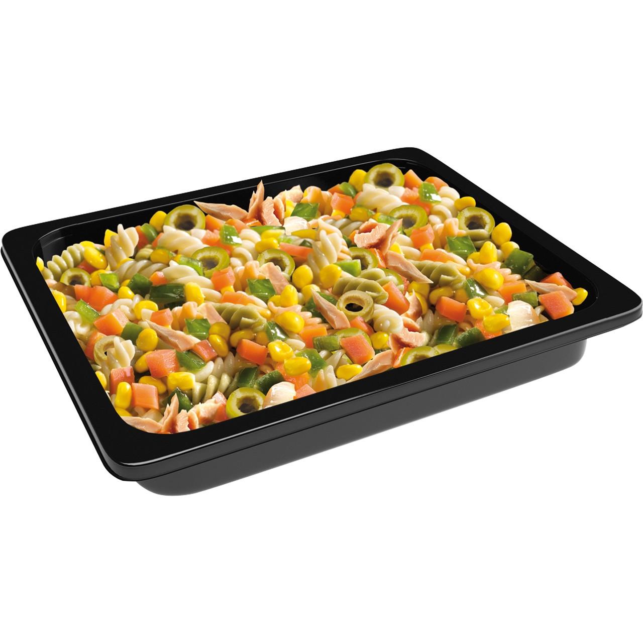 Carretilla-amanida de pasta amb tonyina