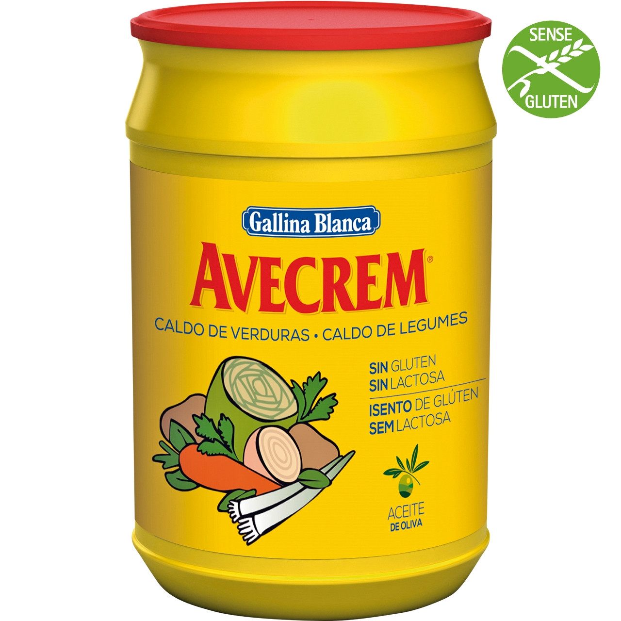 Brou verdures sense gluten Avecrem