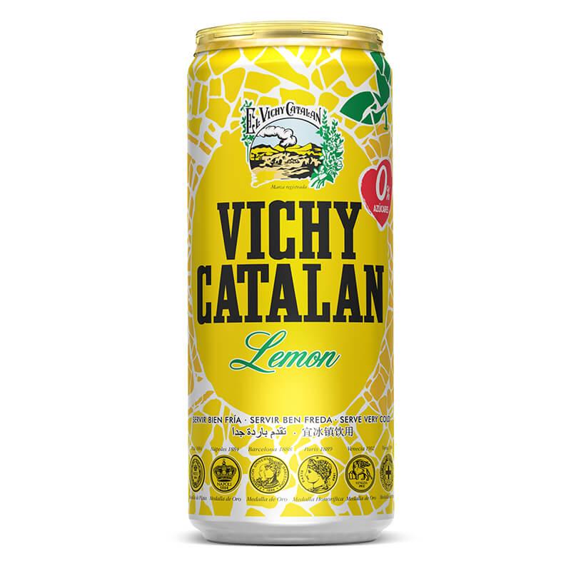 Llauna vichy llimona 33cl - 24un