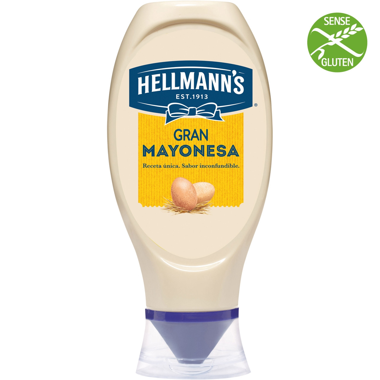 Maionesa Hellmann's bocabajo