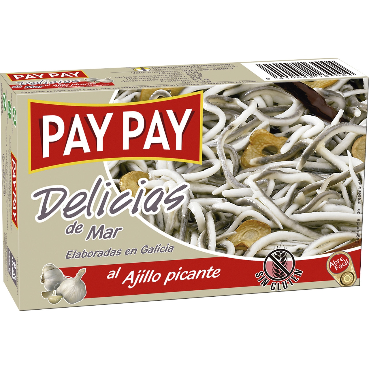 Delicies de mar (gules) ol120 pay pay