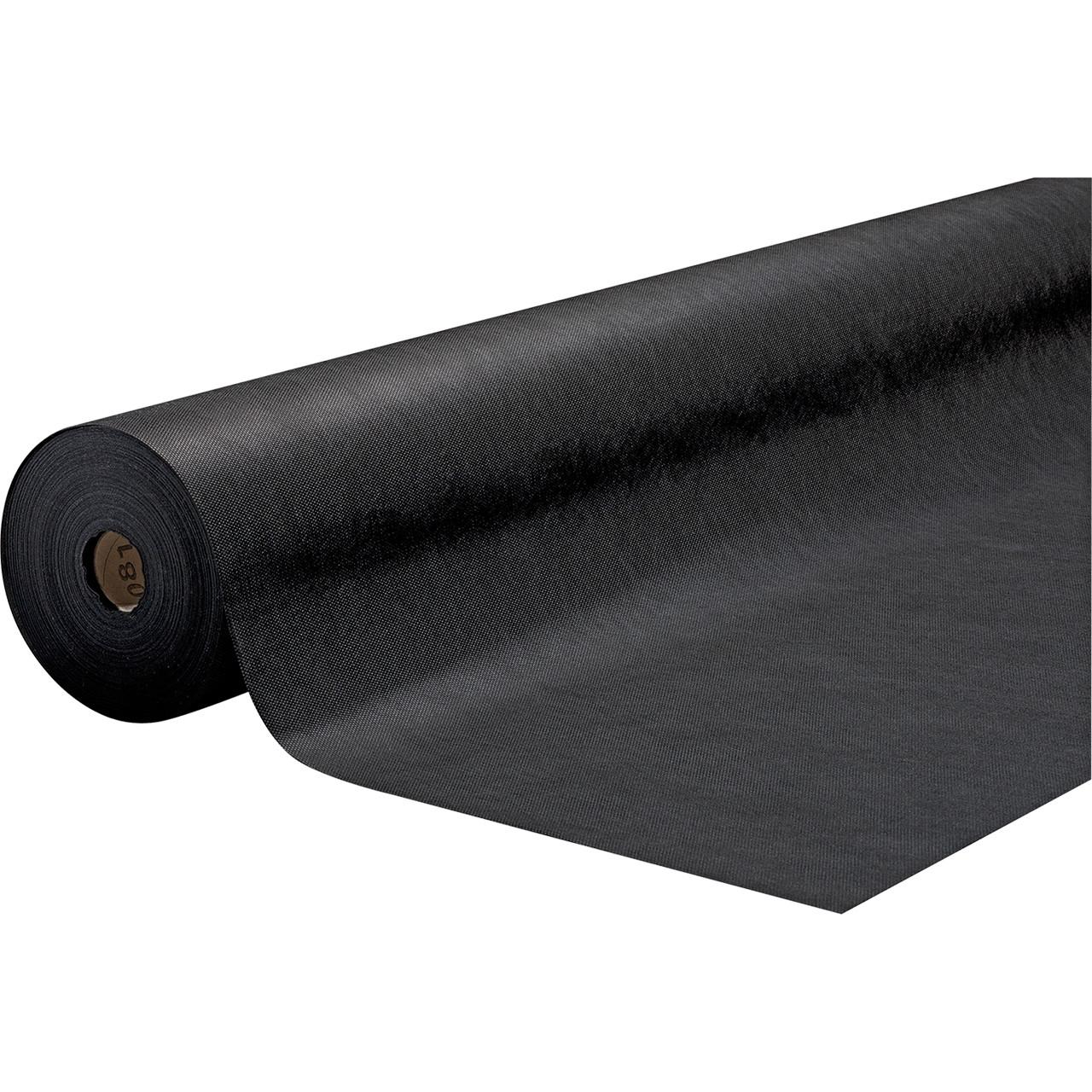 Estovalles goma camps negre individual 1,20 x 50m