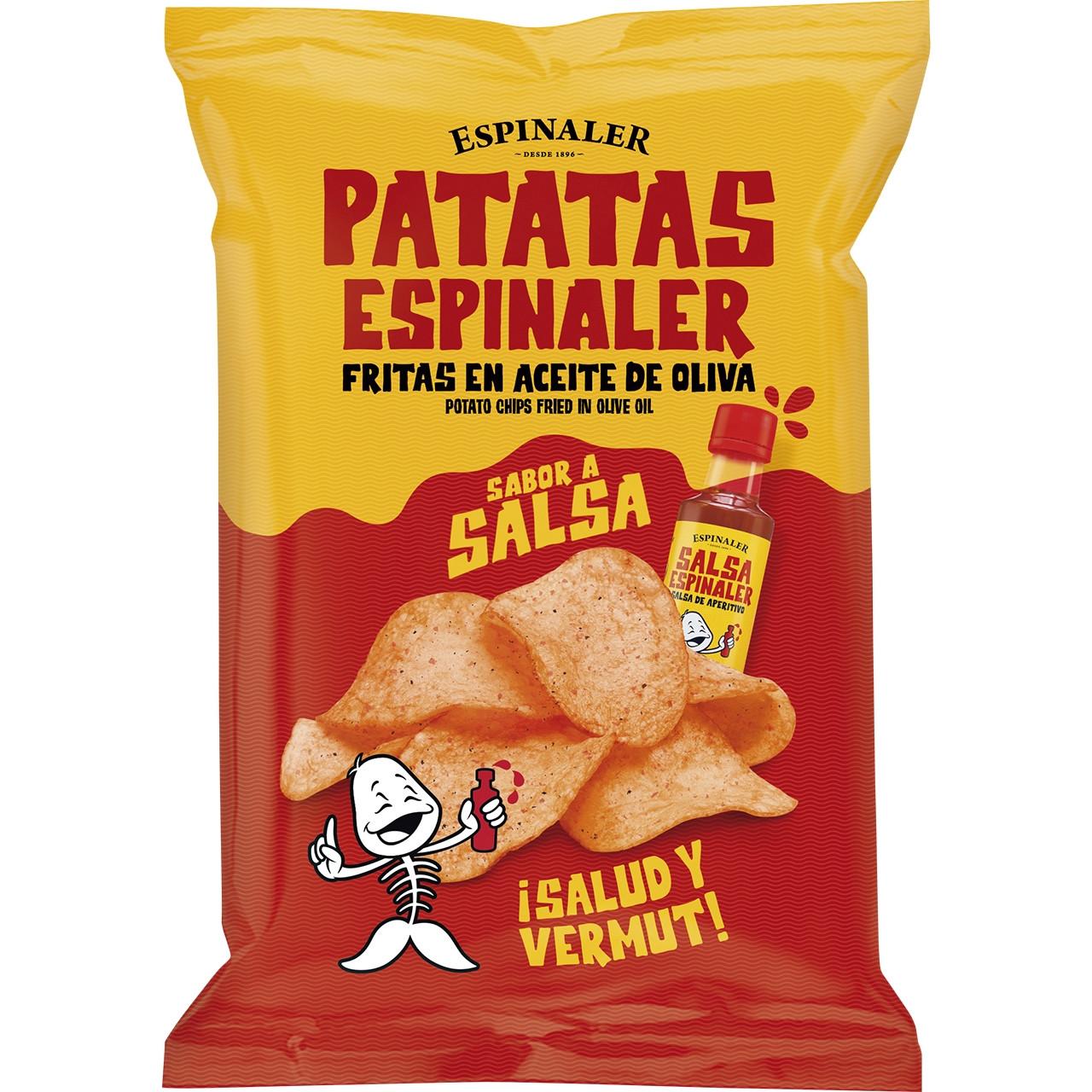 Espinaler-patates salsa