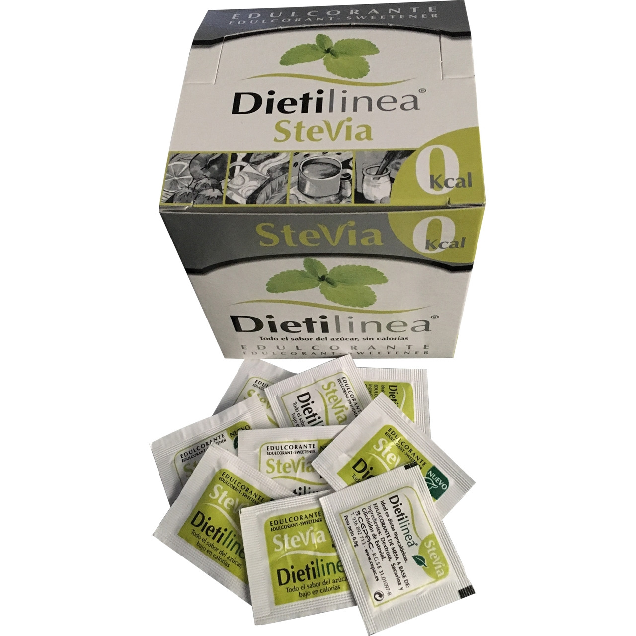 Edulcorant Dietilinea stevia 0kcal