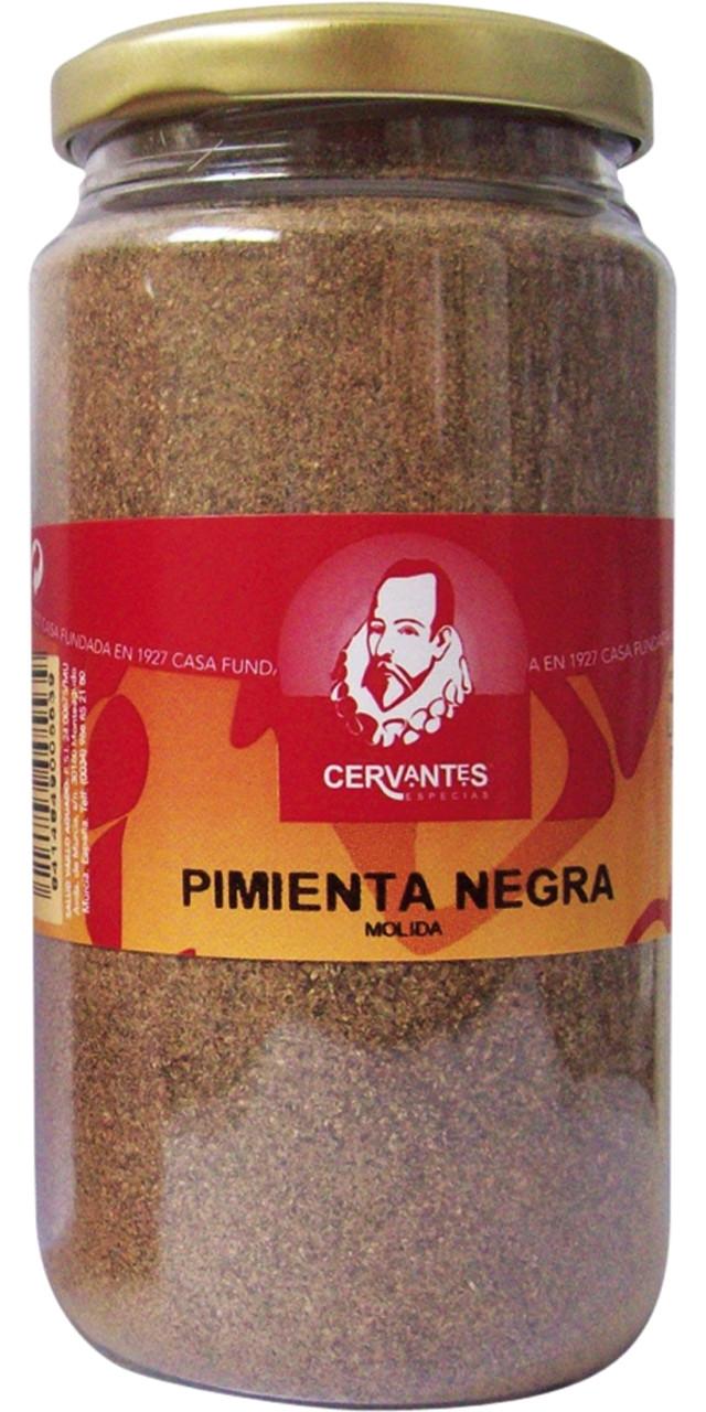 Pebre negre molt Cervantes