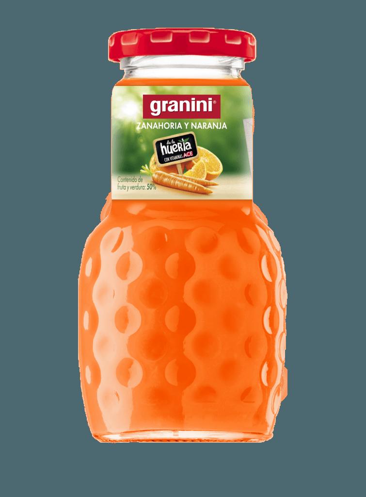 Granini taronja-pastanaga 200ml 24u