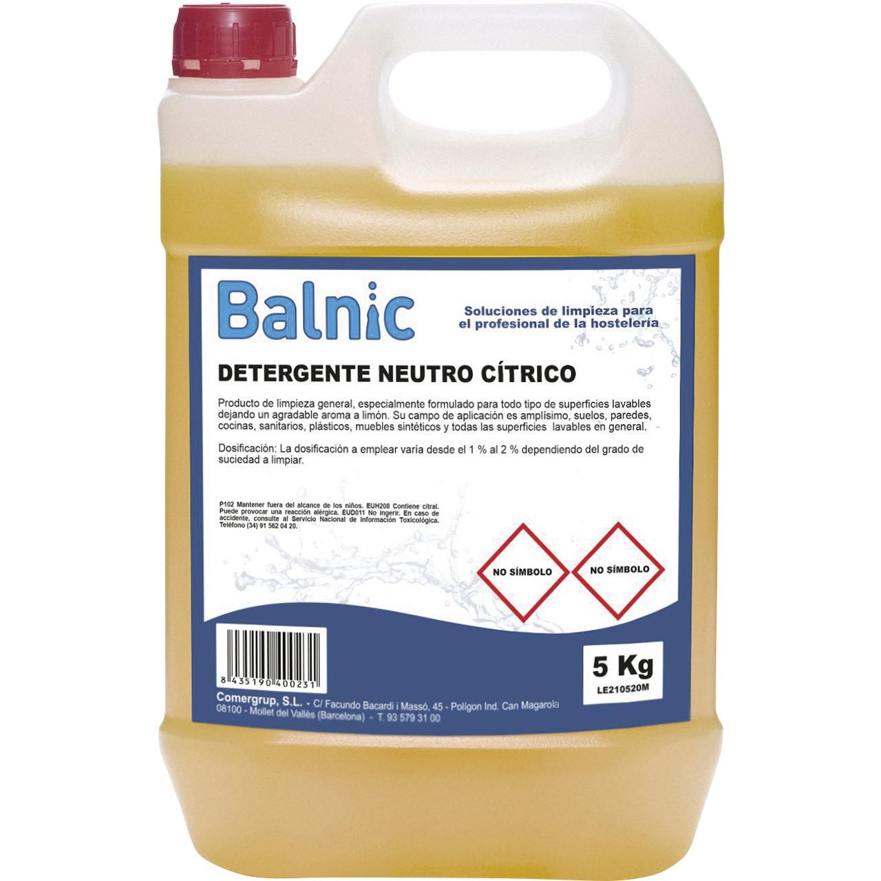 Balnic detergent neutre cítric