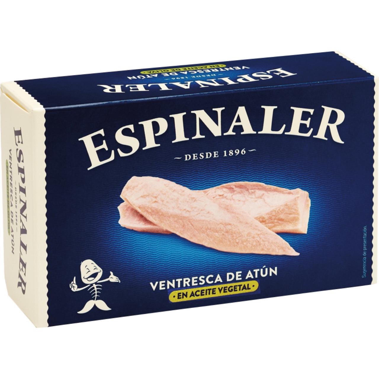Espinaler-ventresca de tonyina en oli d'oliva ol-120