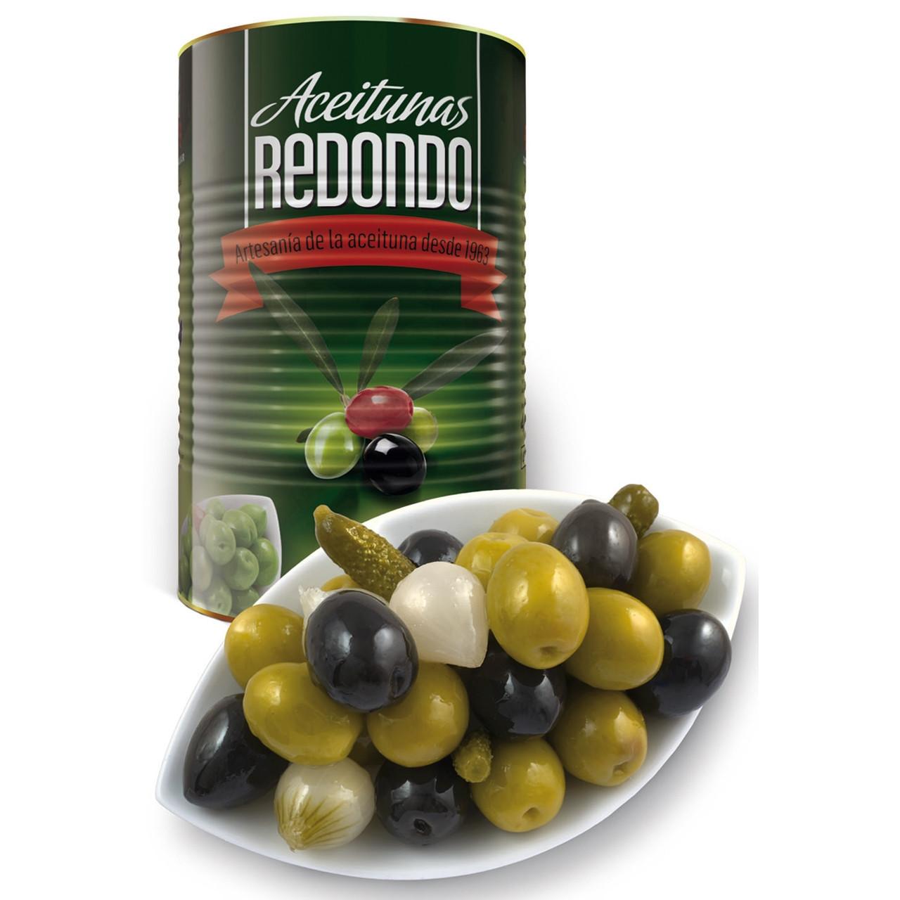 Còctel olives llauna Redondo