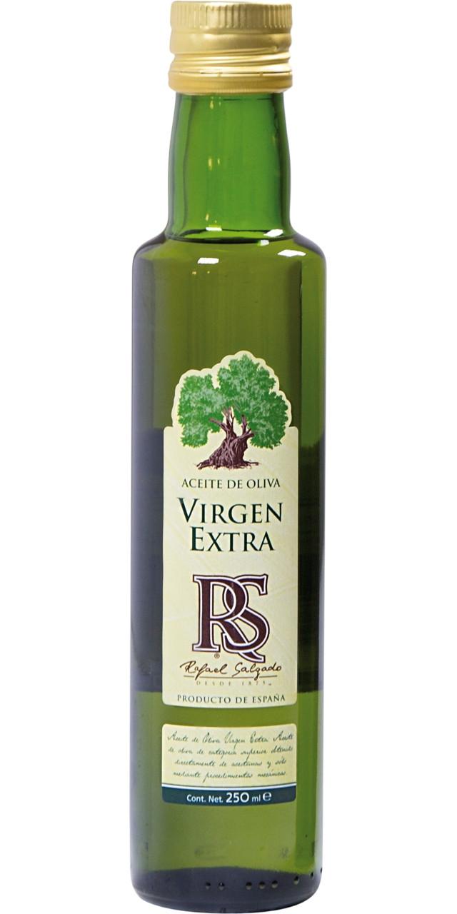 Rs oli d'oliva verge extra ampolla rodona vidre