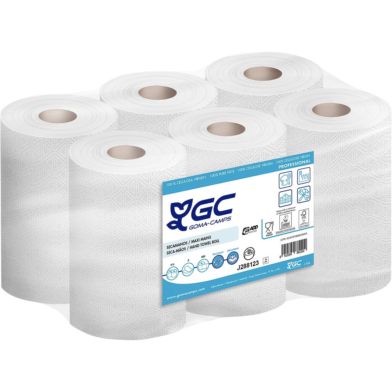 Mini-eixugamans 2c. add pasta