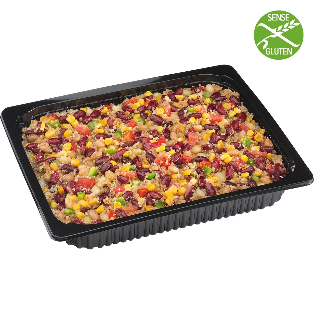 Carretilla-amanida de quinoa
