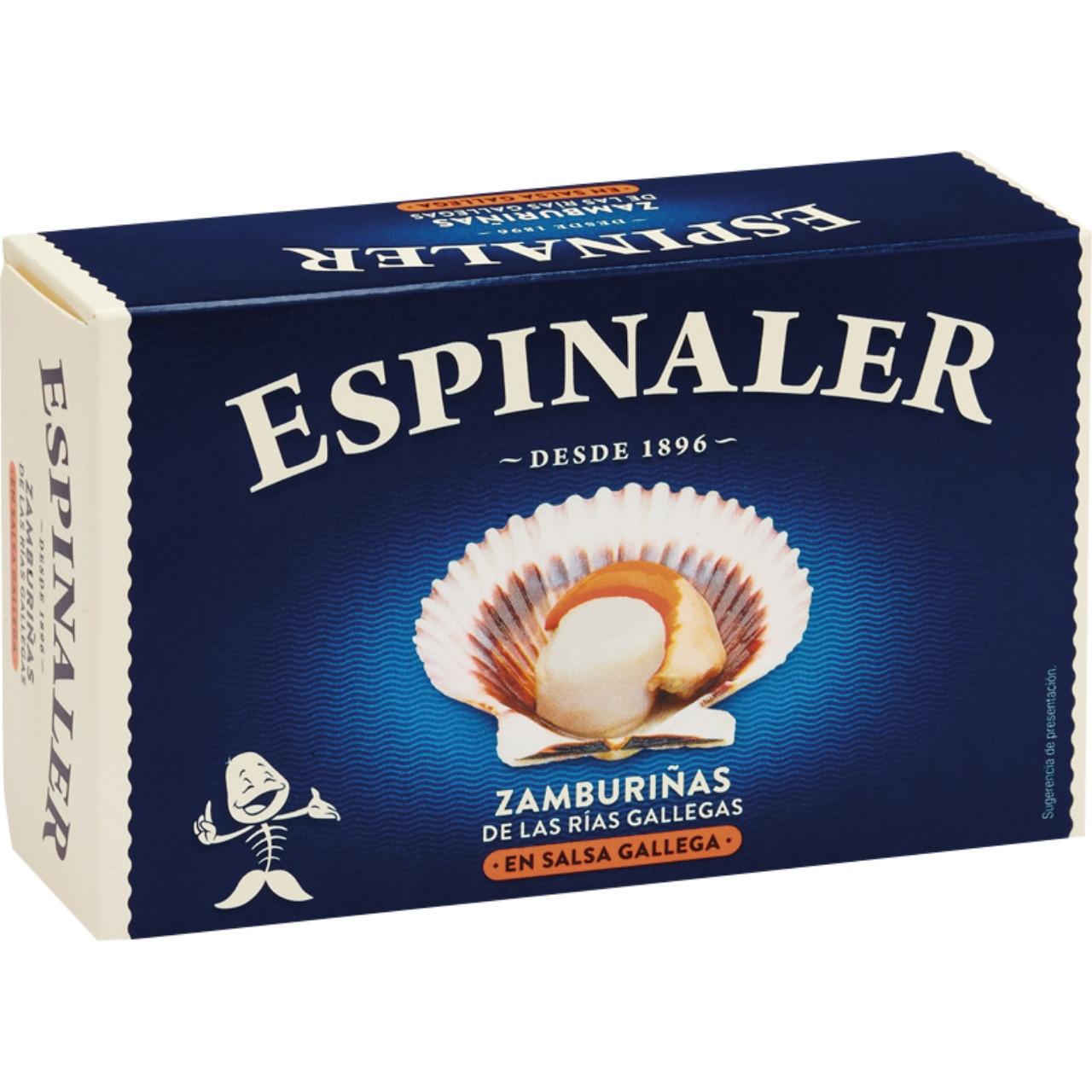 Espinaler-zamburiñas en salsa gallega ol120 10/12