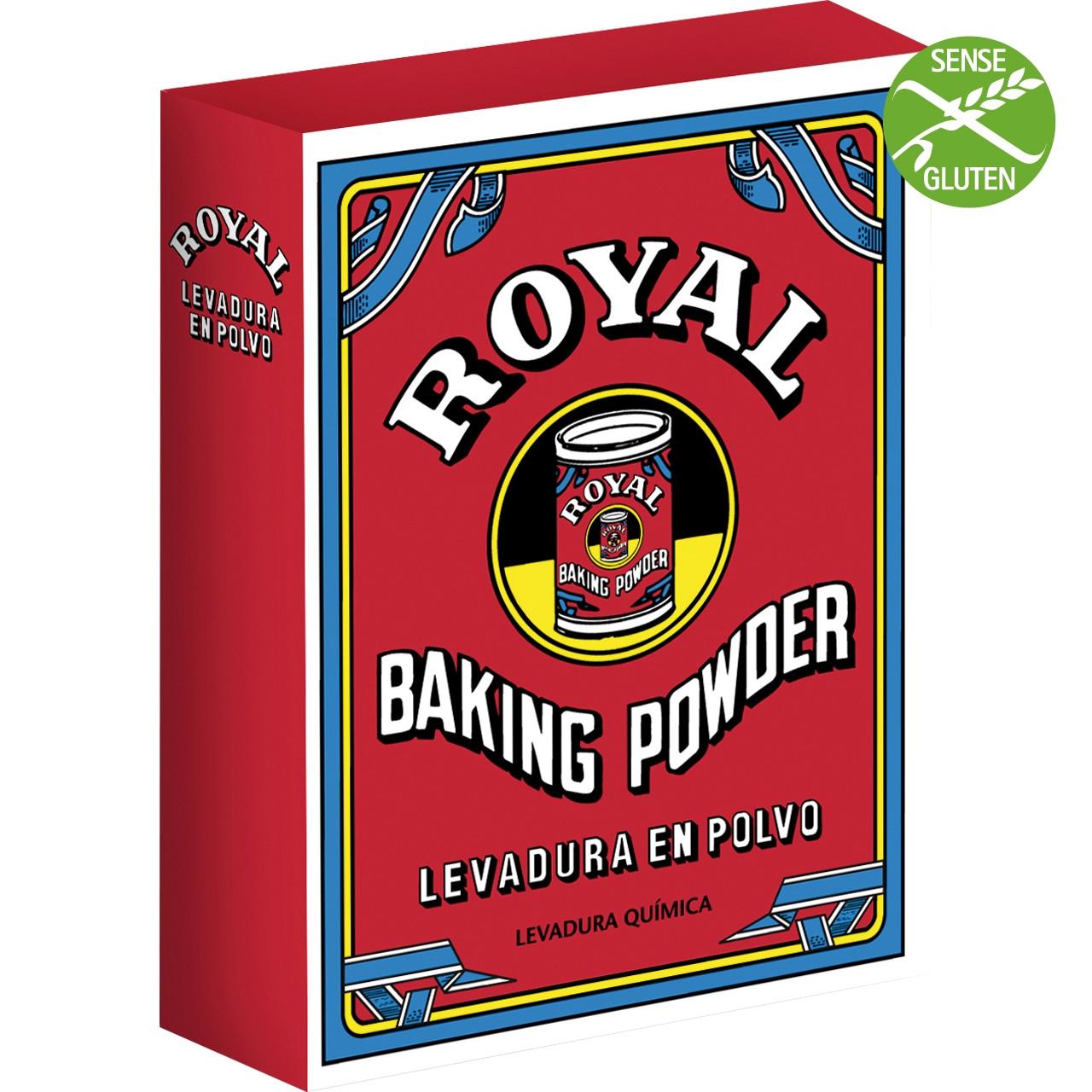 Llevat royal 80g (5 sobres 16g)